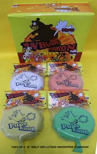 7501-2F-1 SELF-INFLATING WHOOPEE CUSHION WITH DISPLAY BOX
