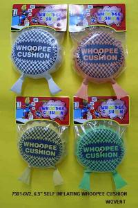 7501-6V2 SELF-INFLATING WHOOPEE CUSHION W/2 VENT